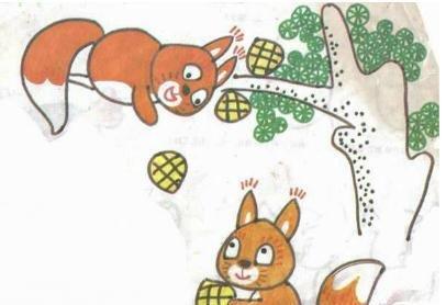 雄鹰卡通手绘素描
